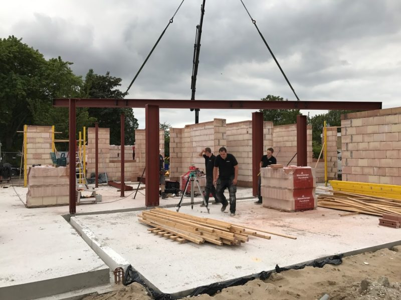 Constructie woning bouw