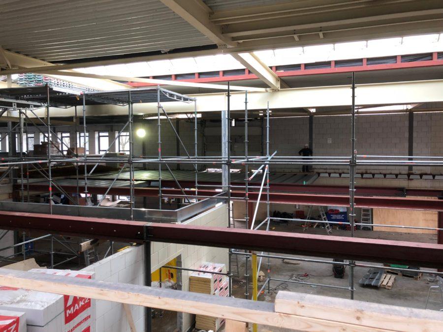 Verdiepings vloer 500m2 Comflor 2018