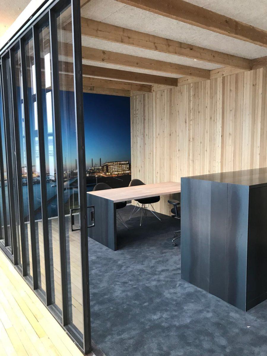 Retro Interieur Bouw / Blauwstaal