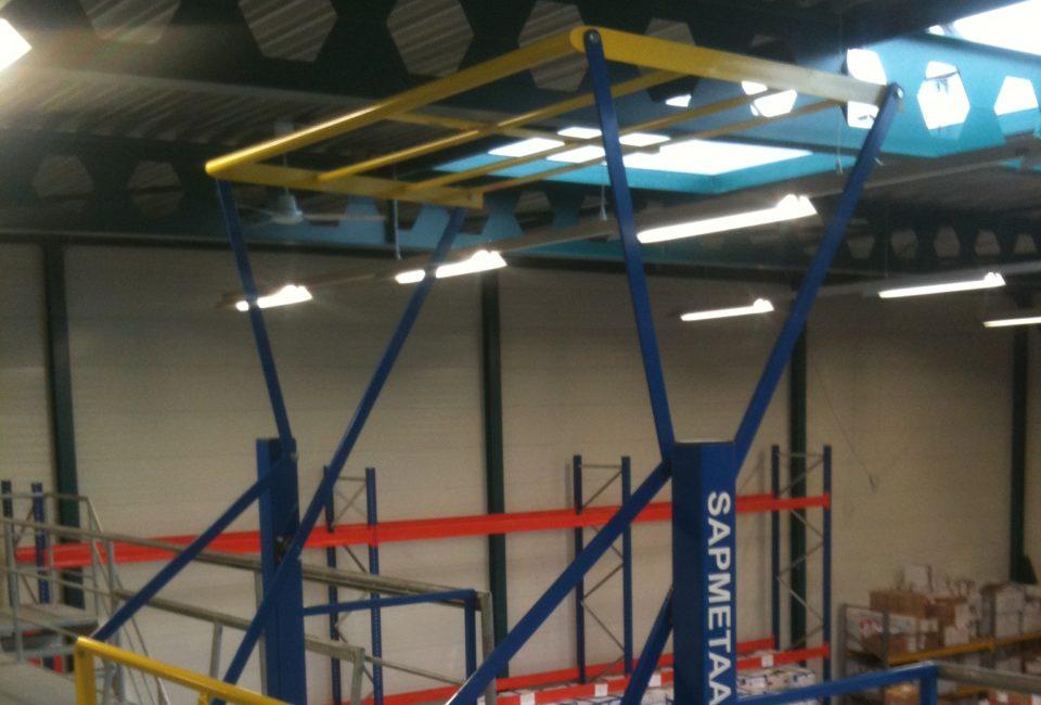 Entresol Beveiliging / pallet laad station