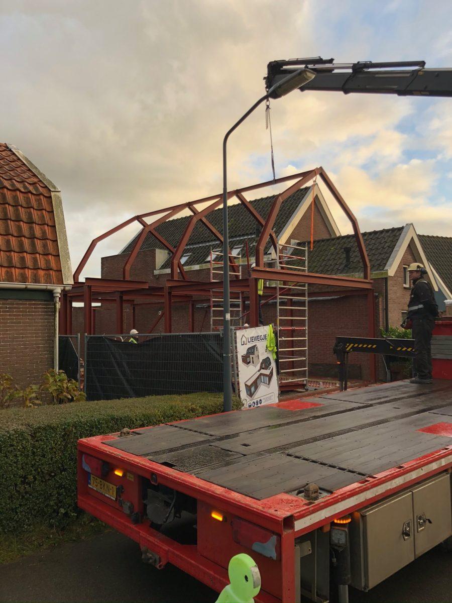 Huizen bouwen van Staal