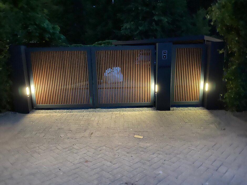 Automatische schuifpoort en hekken